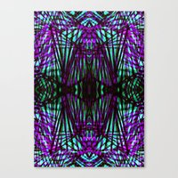 Electric Jungle Canvas Print