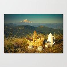 Coffee on Courtney Ridge Canvas Print