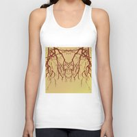 branches#07 Unisex Tank Top