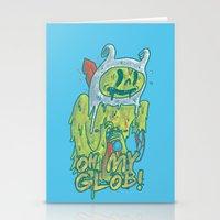 Zombie Finn Stationery Cards