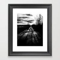 WHERETO Framed Art Print