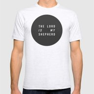SHEPHERD Mens Fitted Tee Ash Grey SMALL