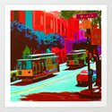 San Francisco 005 Art Print