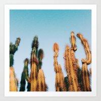 dr. seuss cacti Art Print