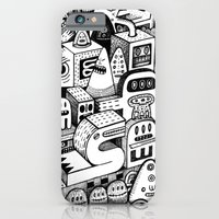 iPhone Cases featuring l'Arche by Exit Man