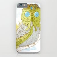 iPhone & iPod Case featuring Bubowl by siddwills