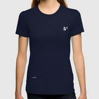 The Original Bear Womens Fitted Tee Navy SMALL