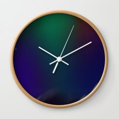 Dance of the Northern Skies Wall Clock