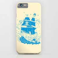 Piratas from outer space iPhone 6 Slim Case