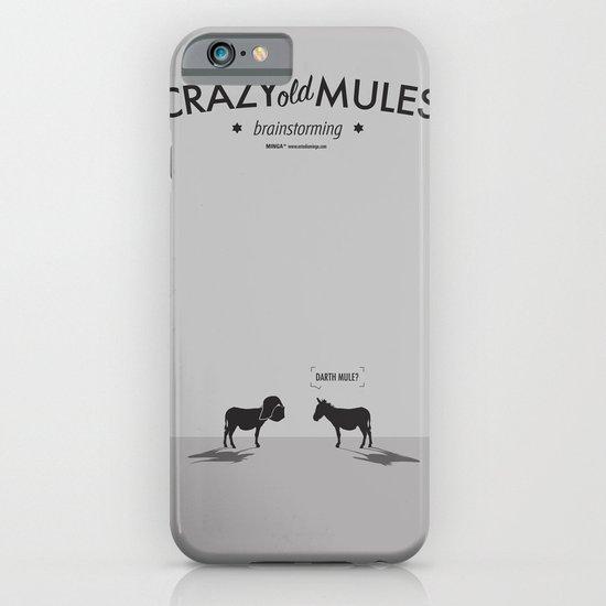 Crazy old Mule / Darth Mule iPhone & iPod Case
