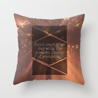 A Day Throw Pillow