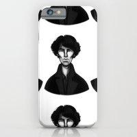 sherlock iPhone & iPod Cases featuring Sherlock by Blanca Limón