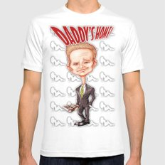 The legendary...Barney Stinson! SMALL Mens Fitted Tee White