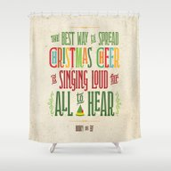 Buddy The Elf! The Best … Shower Curtain