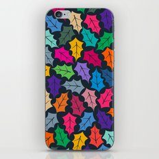 Colorful leaves III iPhone & iPod Skin
