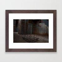 Hollow Cart Framed Art Print