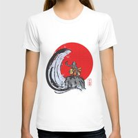 Aang In The Avatar State Womens Fitted Tee White SMALL