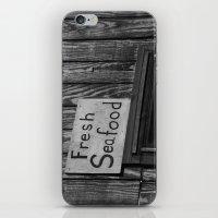 Fresh Seafood iPhone & iPod Skin