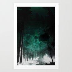 Faraway Places Art Print