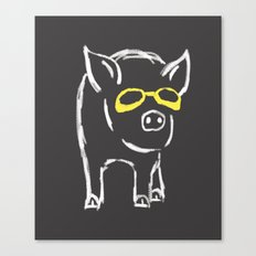 Pigster No.2 Canvas Print