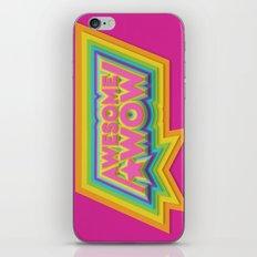 Awesome. Wow. iPhone & iPod Skin