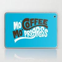 Mo' Coffee Mo' Progress Laptop & iPad Skin