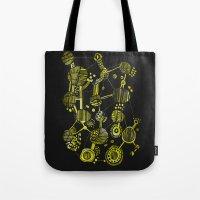 Abstract 1 - Circles And… Tote Bag