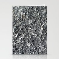rock texture Stationery Cards