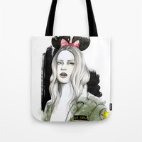 Army Girl Tote Bag