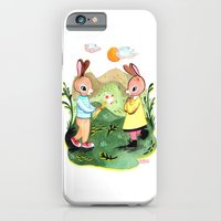 iPhone & iPod Case featuring Happy Birthday Little Rabbit by Rebecca Rogers