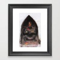 Bodhinath Shrine - 6 Of … Framed Art Print