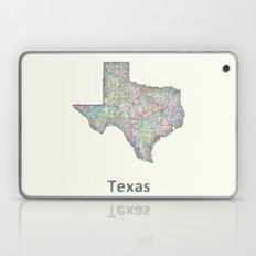 Texas map Laptop & iPad Skin