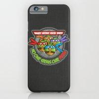 Angry Mutant Ninja Birds iPhone 6 Slim Case