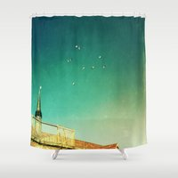 That's Where You'll Find Me V1 Shower Curtain