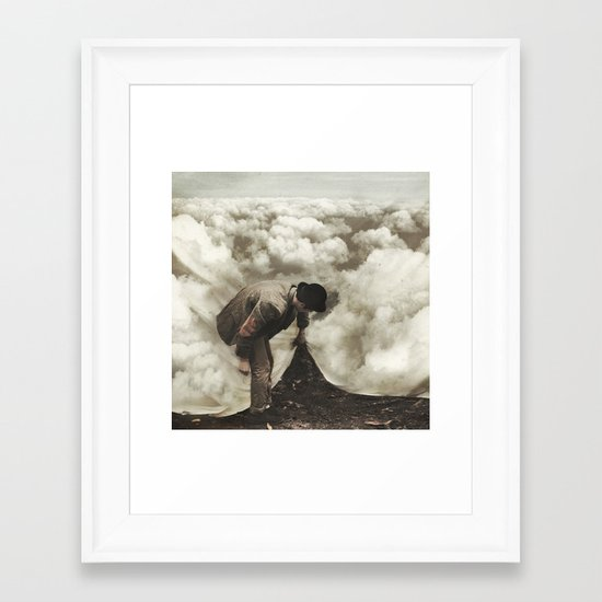 The Keepers  Framed Art Print