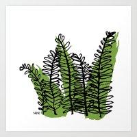 Serengeti Safari - Acacia Art Print