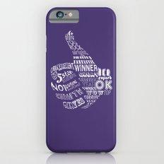 Thumbs Up! Slim Case iPhone 6s