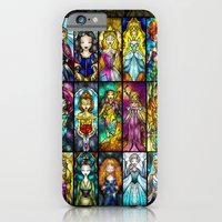 iPhone & iPod Case featuring The Princesses by Mandie Manzano
