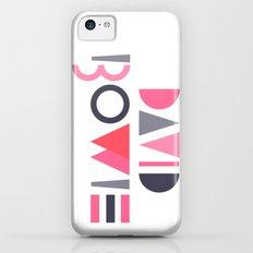 Memphis Bowie iPhone 5c Slim Case