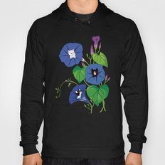 PeekABoo Cats in Flowers Morning Glory Hoody