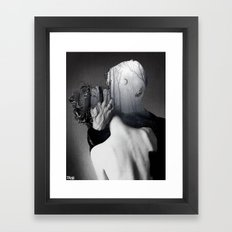 in the forest of love Framed Art Print