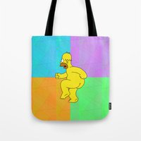 NAKED HOMER For IPhone Tote Bag
