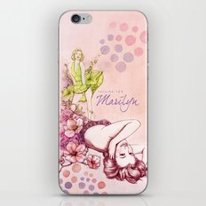Falling for Marilyn iPhone & iPod Skin