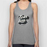 Fear Less Unisex Tank Top