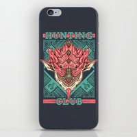 Hunting Club: Pink Rathian iPhone & iPod Skin