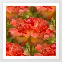 Roses Galore Art Print