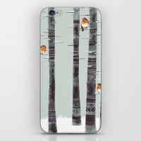 Robin Trees iPhone & iPod Skin