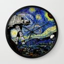 Starry Night versus the Empire Wall Clock