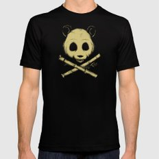 The Jolly Panda SMALL Black Mens Fitted Tee