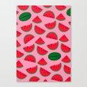 Sandia / Watermelon Canvas Print